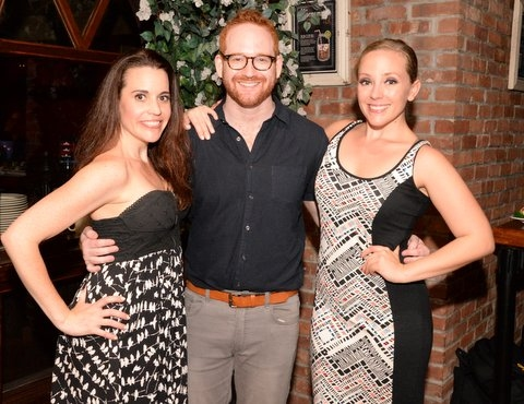 Jenna Leigh Green, Director David Alpert and Tracy McDowell