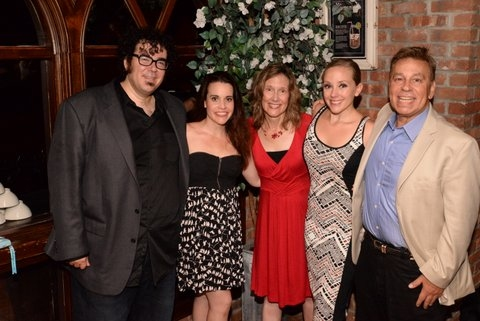 Michael Teoli, Jenna Leigh Green, Elizabeth Searle, Tracy McDowell and Paul T. Boghosian