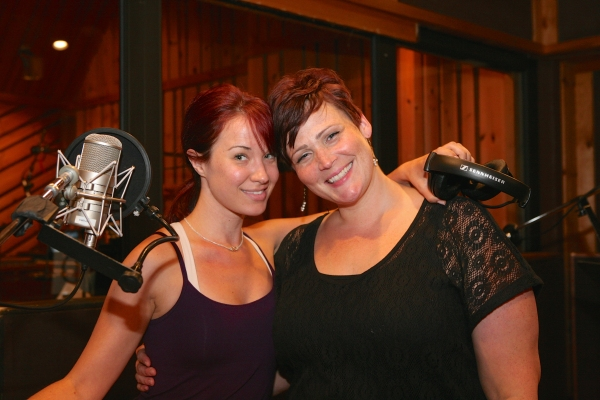 Photo Flash: Inside the Recording Studio with the Cast of IT SHOULDA BEEN YOU!