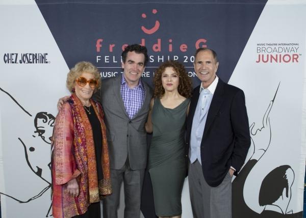 Myrna Gershon, Brian d'Arcy James, Bernadette Peters, Freddie Gershon