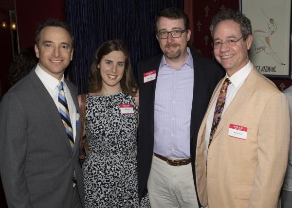 MTI's President Drew Cohen, Emily Peters, Sean Flahaven, Mark Sendroff