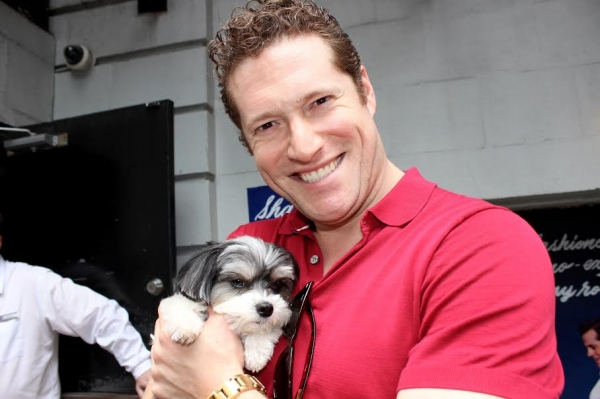 Photo Flash: Rescue Pooch Tinkerbelle the Dog Visits AN AMERICAN IN PARIS