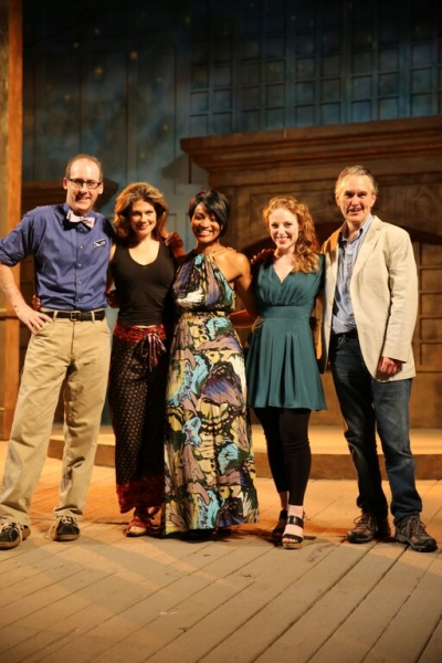 Kevin McKillip as ''Leontes'', Melissa Carlson as ''Hermione'', Diana Coates as ''Paulina'', Ann Marie White as 