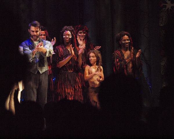 Photo Coverage: Curtain Call and Opening Night Celebration Of 3-D Theatricals' TARZAN THE STAGE MUSICAL BASED ON THE DISNEY FILM