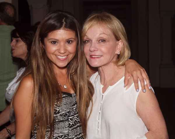 Valerie Rose Curiel and Cathy Rigby