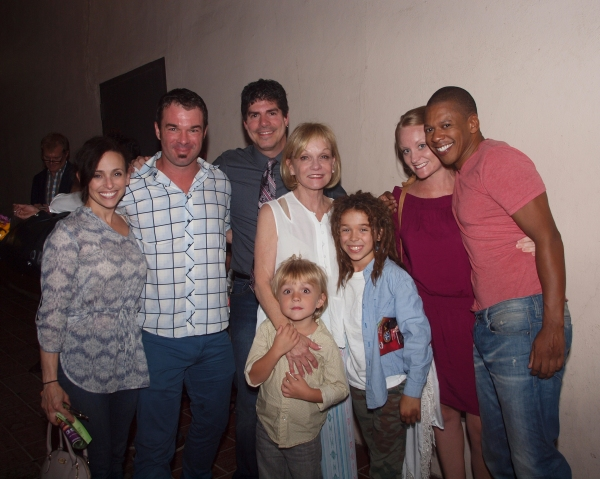 Dana Solimando, Buck Mason, Paul Rubin, Cathy Rigby, Wyatt Flemming Jude Mason, Theresa McCoy Flemming, and Lawrence Cummings