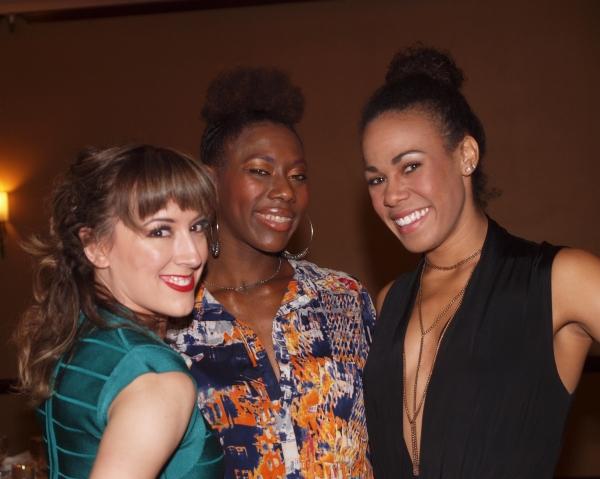 Tiffany Reid, Arlondriah Lenyea, and Christiana Powell