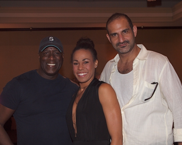 Marc Cedric Smith, Christiana Powell, and Brian Abraham