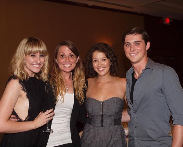 Katie DeShan, Gretchen Dawson, Brittany Rose Hammond, and Bren Thor Johnson