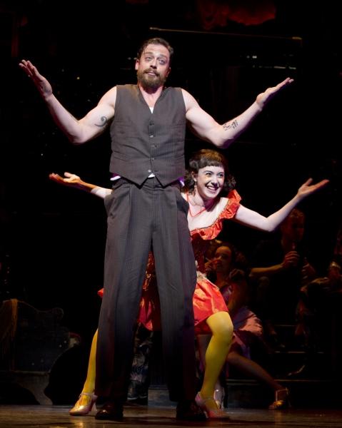 Photo Flash: Sutton Foster, Steven Pasquale, Miriam Shor & More Take City Center in Encores! Off-Center's THE WILD PARTY