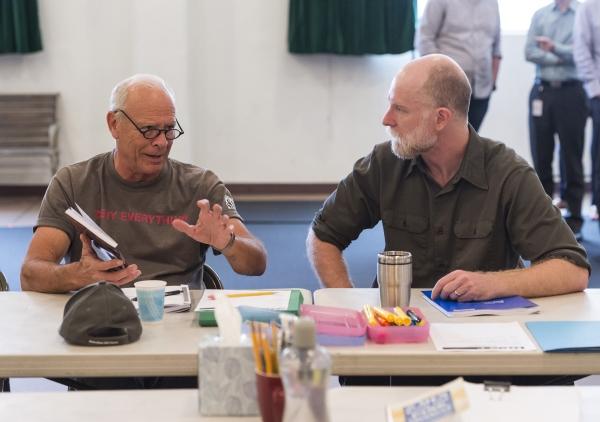 Ray Baker and Hugo Armstrong Photo