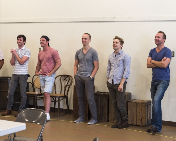 Wyatt Fenner, Jake Shears, Matthew Carlson, Andy Mientus and Brionne Davis