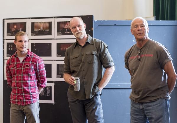 Jonathan B. Wright, Hugo Armstrong and Ray Baker Photo