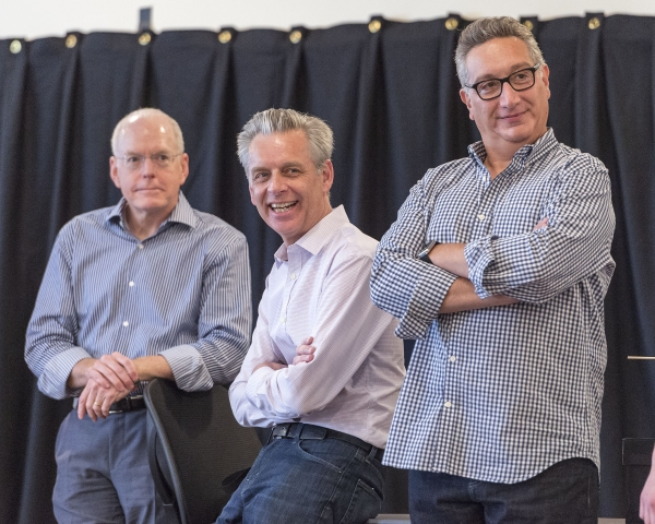 Doug Baker, Michael Ritchie and Moises Kaufman