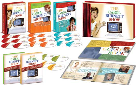 THE CAROL BURNETT SHOW Box Set Featuring Musicals, Broadway Stars & More Out Today