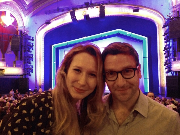 39 STEPS' Brittany Vicars and Billy Carter at Broadway's ON THE TOWN Photo