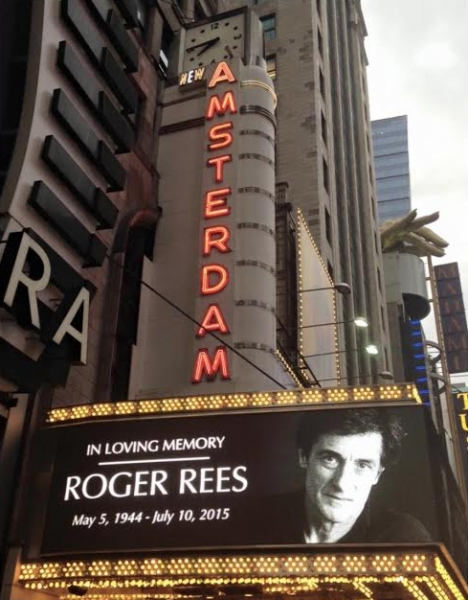 Photos and Footage: In Memoriam... Broadway Dims Its Marquees for Roger Rees