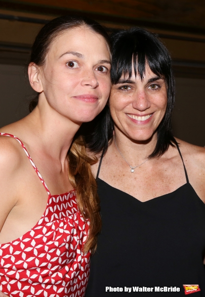 Sutton Foster and Leigh Silverman