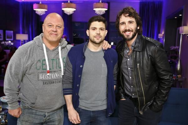 Michael Chiklis, Jerry Ferrara, Josh Groban