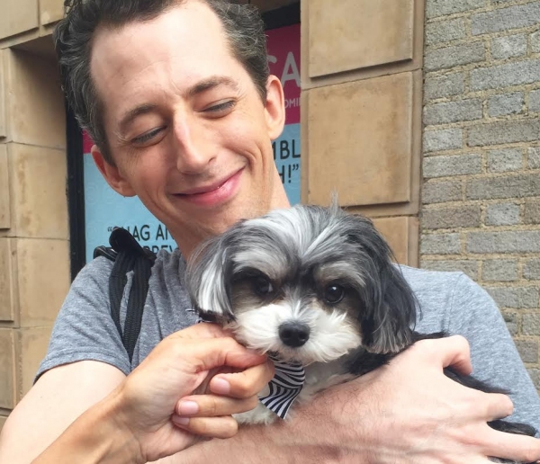 Photo Flash: Tinkerbelle the Dog Visits Broadway's IT SHOULDA BEEN YOU