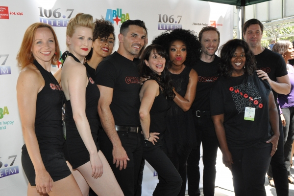 Brandy Norwood, Donna Marie Asbury, NaTasha Yvette Williams and the cast of Chicago-David Bushman, Andrew Fitch, Keley Ann Griffin, Denny Paschall, Angel Reda, Michael Scirrotto, Tonya Wathen and Lara Seibert Young
