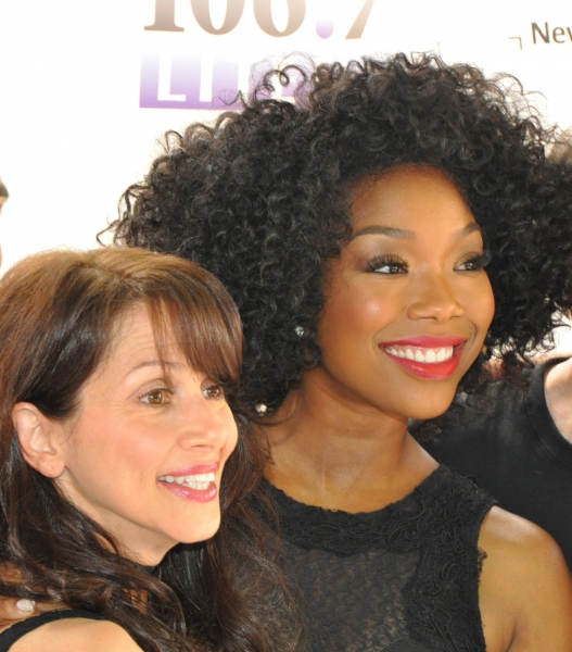 Donna Marie Asbury and Brandy Norwood