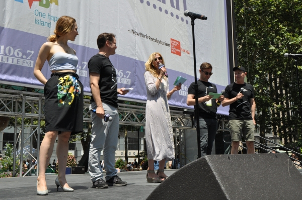 Photo Coverage: CHICAGO, MAMMA MIA!, FINDING NEVERLAND & More Perform at Broadway in Bryant Park!