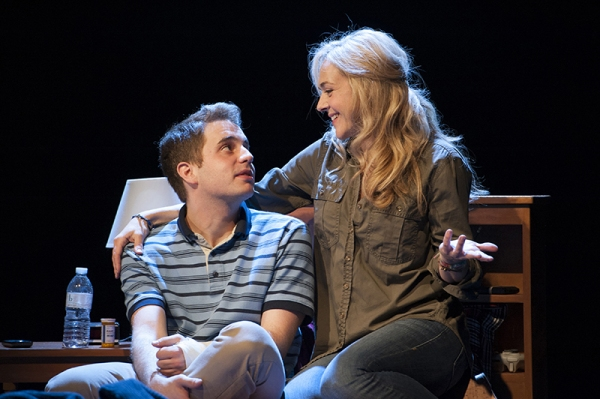 Ben Platt and Rachel Bay Jones
