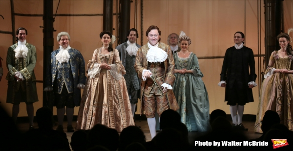 Photo Coverage: AMAZING GRACE Company Takes Opening Night Bows!