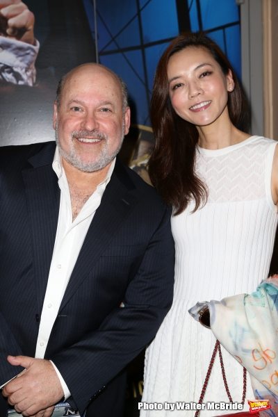 Frank Wildhorn and singer Yoka Wao