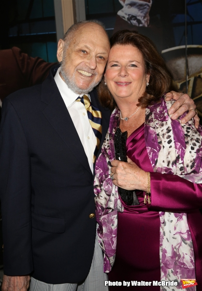 Charles Strouse and Carolyn Rossi Copeland