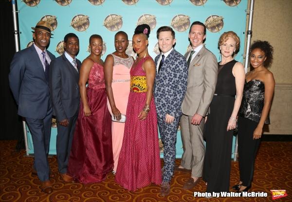 Photo Coverage: AMAZING GRACE Company Celebrates Opening Night!