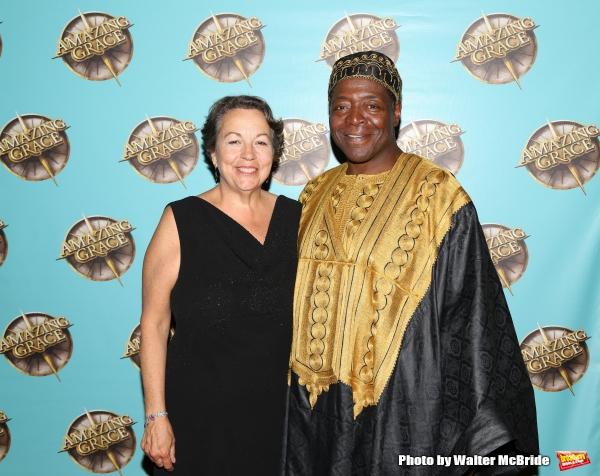 Deborah Brevoort and Chuck Cooper