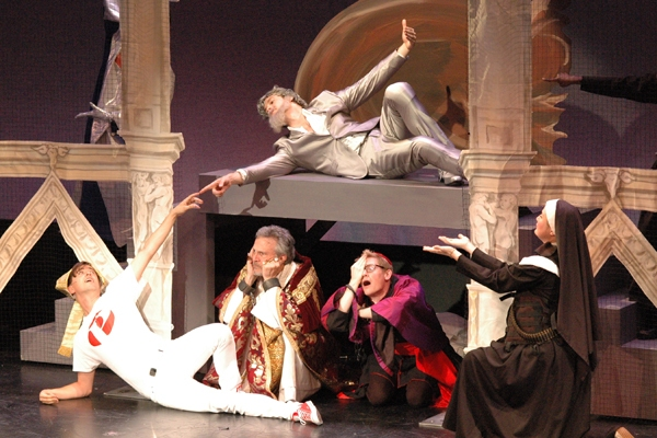 Photo Flash: POPE! Opens at NYMF