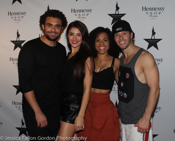 Andrew Chappelle, Carleigh Bettiol, Alysha Deslorieux and Thayne Jasperson Photo