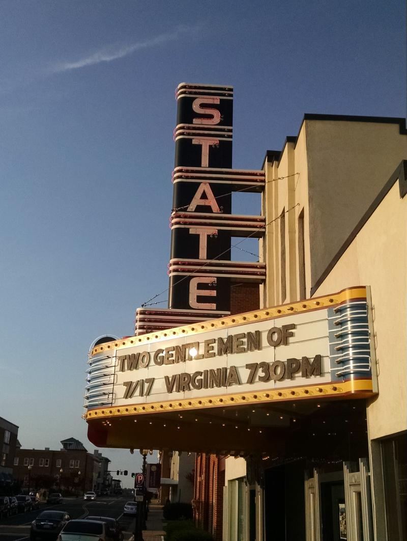 Special Report from the Road: Culpeper's State Theatre Features Endstation Theatre Company and Their Rocking TWO GENTLEMEN OF VIRGINIA On Tour