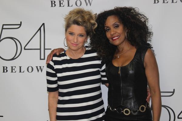 Liz Larsen and Cheryl Freeman
