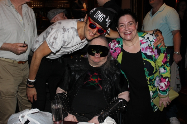 Pat Cerasaro, Jim Steinman and Jaqueline Dillon