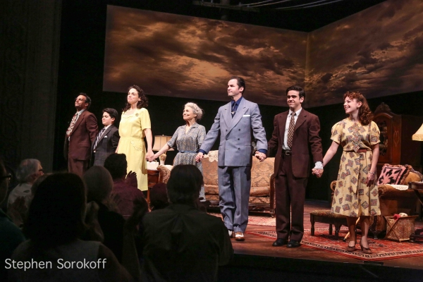 Lost In Yonkers,  Curtain Call, Dominic Comperatore, Jake Giordano, PaulaJon Derose, Lynn Cohen, David Christopher Wells,Matt Gumley, Stephanie Cozart