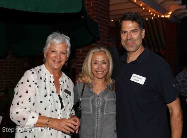 Mary Ann Quinson, Chair, Board of Directors, EDa Sorokoff, Christopher Innvar