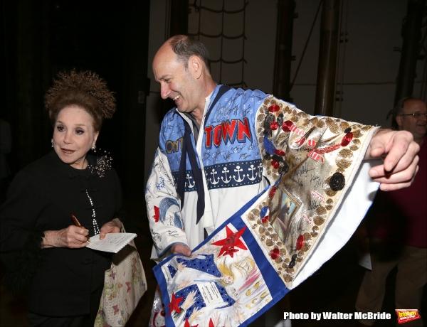 Cindy Adams with Dan Sharkey