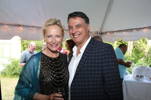 Laila Robins & Robert Cuccioli