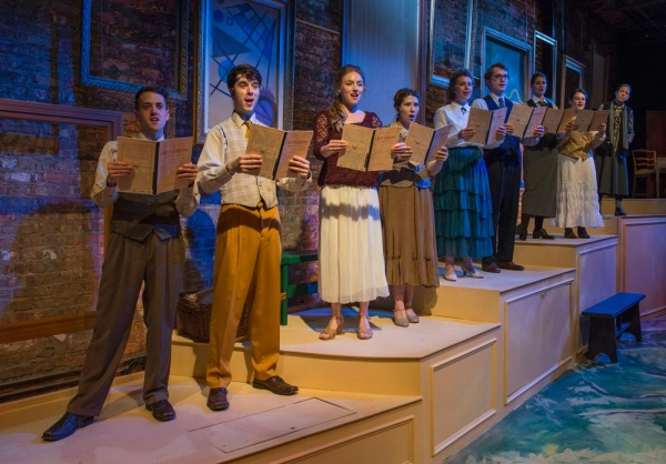 Andrew Lund, George Toles, Stephanie Stockstill, Maisie Rose, Sarah Hayes, Jake Morrissy, Amanda Giles as Young Gertrude, Emily Goldberg as Alice B. Toklas and Caron Buinis as Gertrude Stein