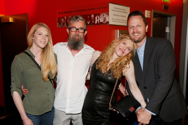 Nancy Waters, Les Waters, Courtney Love and Todd Almond