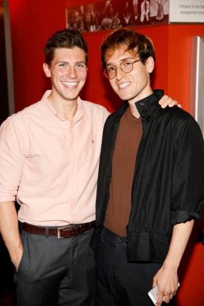 Curt Hansen and Ryder Bach