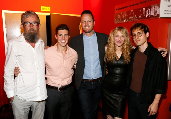 Les Waters, Curt Hansen, Todd Almond, Courtney Love and Ryder Bach