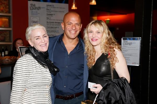 Missy Malkin, Mark Subias and Courtney Love