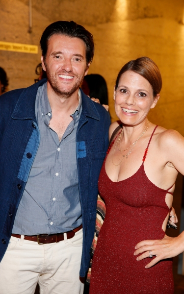 Jason Butler Harner and Suzanne Cryer Photo