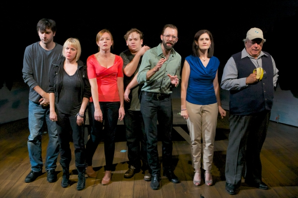 Photo Flash: First Look at STUPID F##KING BIRD at Victory Gardens