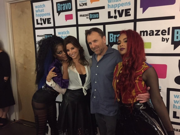 Colin Quinn with Gina Gershon and Rich White Ladies: Tokyo Diva and Scotty Rebel